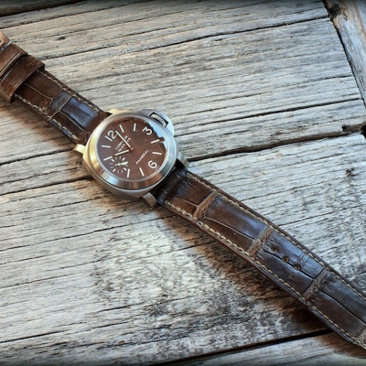 bracelet alligator Canotage