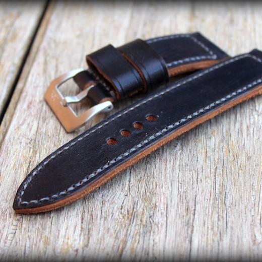 bracelet montre ammo noir