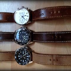 bracelets canotage sur seiko et stowa