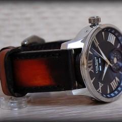louis erard sur bracelet patiné Canotage