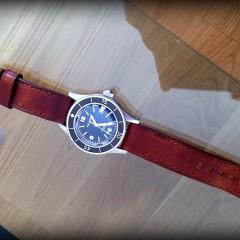 Helson sur bracelet montre cuir ammo