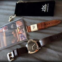 panerai et bracelets montres canotage