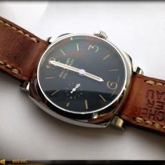 panerai radiomir sur bracelet montre cuir ammo