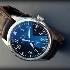 iwc mark xv sur bracelet montre key largo