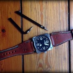 bell & ross sur bracelet montre ammo