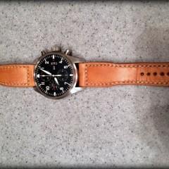 IWC sur bracelet montre canotage