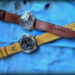 Panerai sur strap Old Cudjoe Key et strap key haven