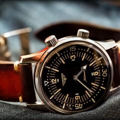 longines legend diver sur bracelet montre valentia