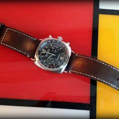 panerai sur bracelet montre valentia
