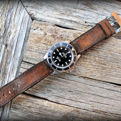 rolex 14060 M sur bracelet montre ammo vieilli
