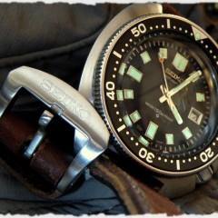 seiko 6105 sur bracelet montre ammo