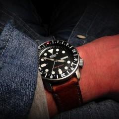 seiko divers sur bracelet montre ammo