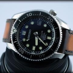 seiko marinemaster sur bracelet montre patiné