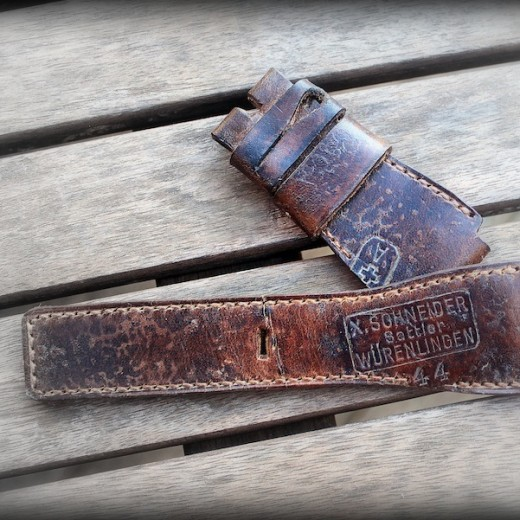 strap ammo 1944 pour bell & ross