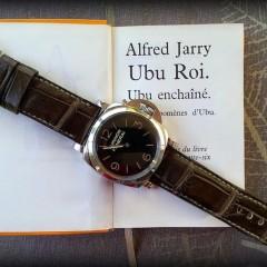 panerai 372 sur bracelet montre alligator vanuatu