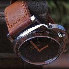 panerai 372 sur bracelet montre ammo suisse clair canotage