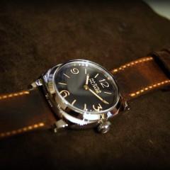 panerai 587 sur bracelet montre ammo vieilli