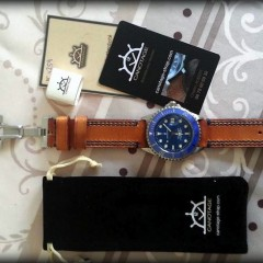 steinhart ocean one sur bracelet montre ammo suisse clair