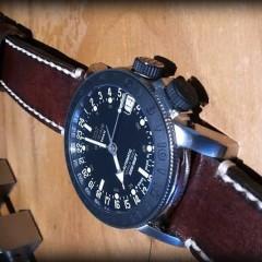 glycine airman sur bracelet montre ammo