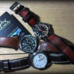 montres sur bracelets canotage