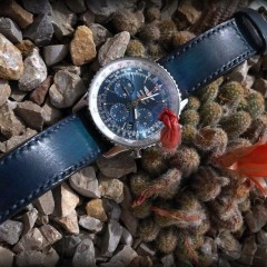 breitling navitimer sur bracelet montre patinée lofoten