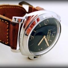 panerai 372 sur bracelet montre ammo vieilli