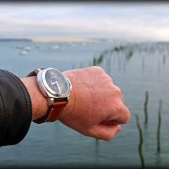 panerai sur bracelet montre ammo suisse clair