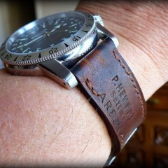 glycine sur bracelet montre ammo