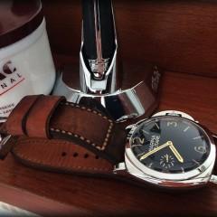 panerai 587 sur bracelet montre budd