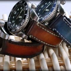 seiko et bracelets montres canotage ligne patinée