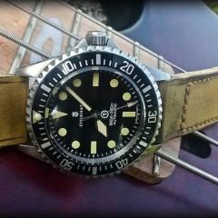 steinhart sur bracelet montre old cudjoe key