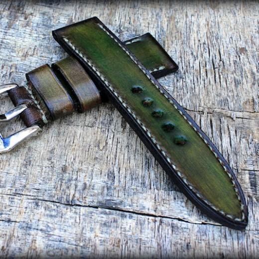 bracelet montre aran de la ligne patinée de canotage
