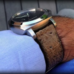 Panerai sur bracelet montre zanzibar canotage