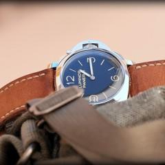 panerai sur bracelet montre ammo canotage