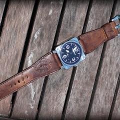 bell & ross sur bracelet montre ammo canotage