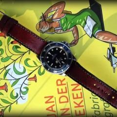 rolex submariner sur bracelet montre ammo canotage