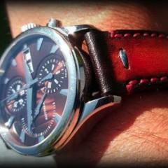 bracelet montre patiné lampedusa canotage