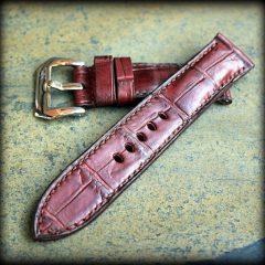 bracelet montre vanuatu rouge