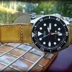 seiko skx 007 sur bracelet montre old cudjoe key