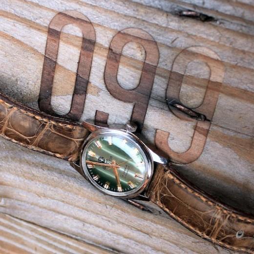 super titus sur bracelet montre alligator vanuatu arabica
