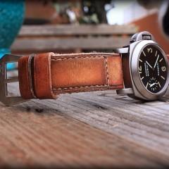 panerai 40 sur bracelet montre ambra