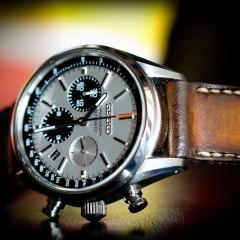 seiko sur bracelet montre patiné orcade