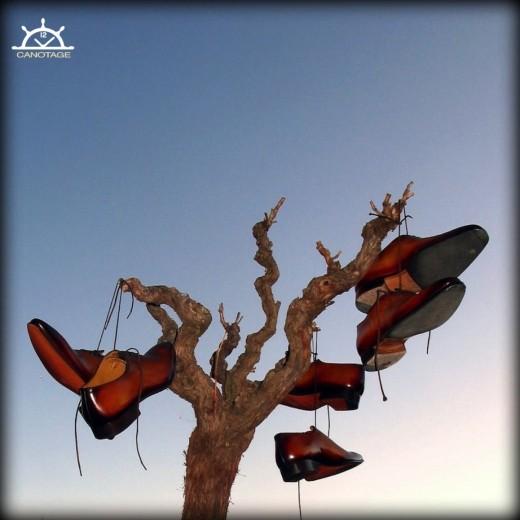 souliers patinés