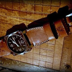 bell & ross sur strap ammo