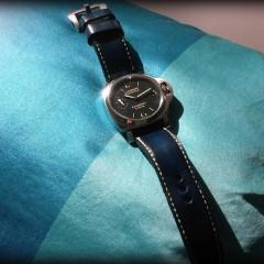 Panerai sur bracelet montre patinée Lofoten