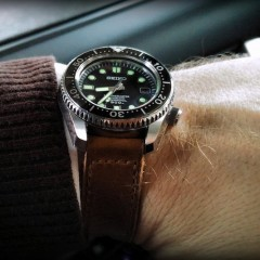 seiko turtle sur bracelet montre ammo