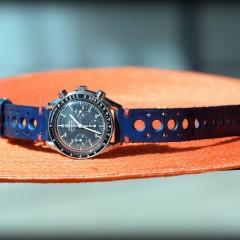 omega speedmaster sur bracelet rallye man canotage