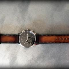 hamilton sur bracelet patiné soay