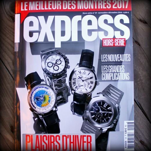 l'express le meilleur des montres 2017
