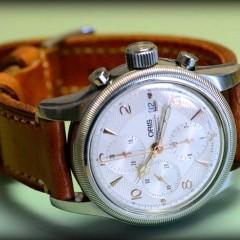 Oris sur bracelet montre ammo Canotage